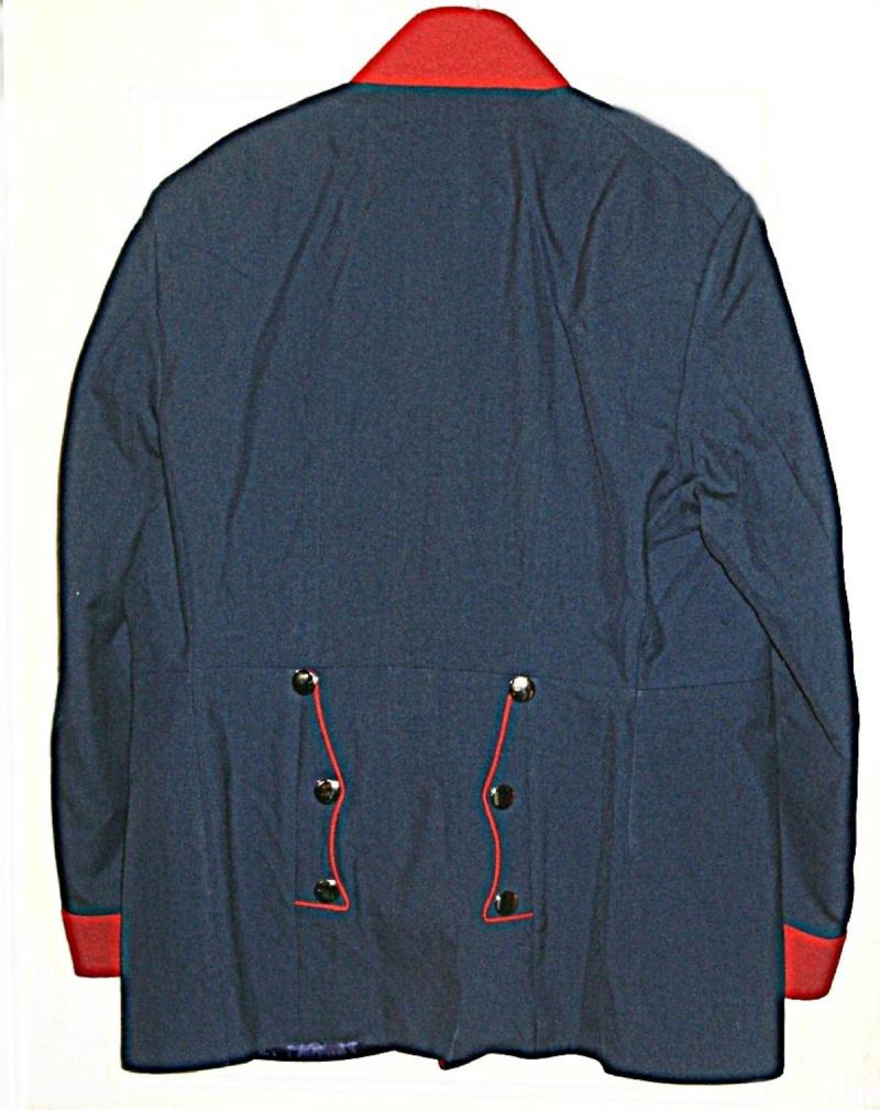 Prussian Officer's Tunic rear