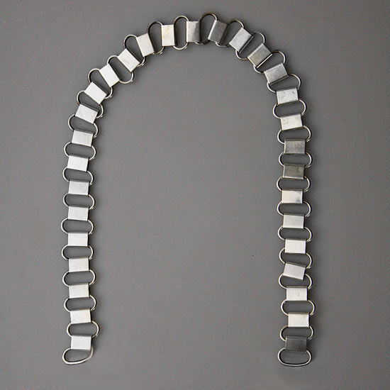 Enlisted Style Gorget Chain Length 40 CM Price $80.00