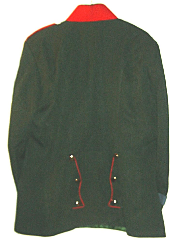 Hannoversches Jäger-Batl.Nr. 10 Enlisted Tunic rear