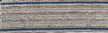 Officer Koller Trim Kurassier Regiment  #6 Price:  $20.00 per meter Regulation 3.4 cm width
