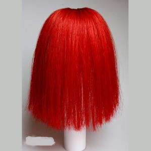 Parade Bush Red Natural Horse Hair