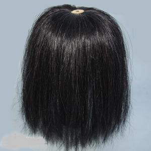 Parade Bush Black Natural Horse Hair