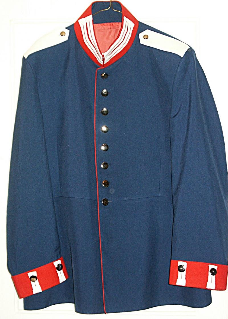 Prussian 1st Garde Regiment Enlisted Tunic