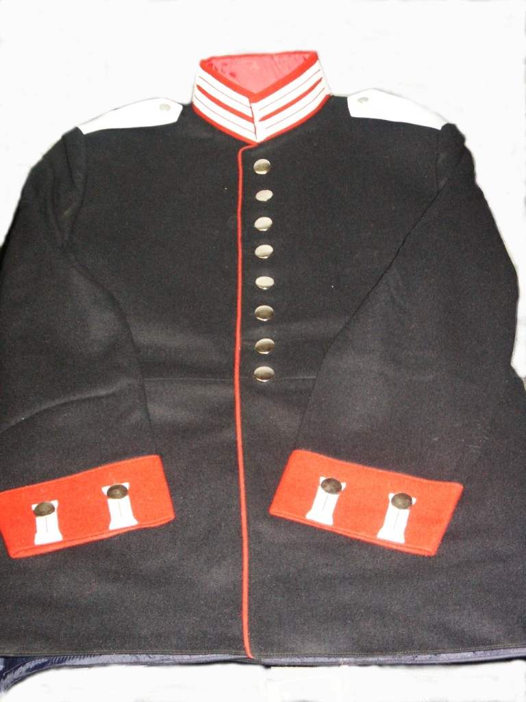 Prussian 1st Garde Regt Enlisted Dark Wool Tunic