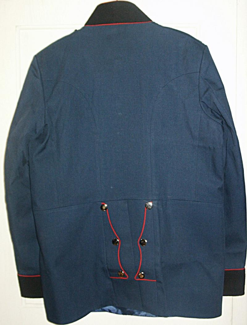 Prussian Engineer Officer's Tunic rear