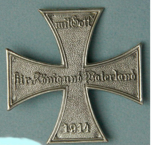 Prussia Landsturm Cross Large Price:  $50.00