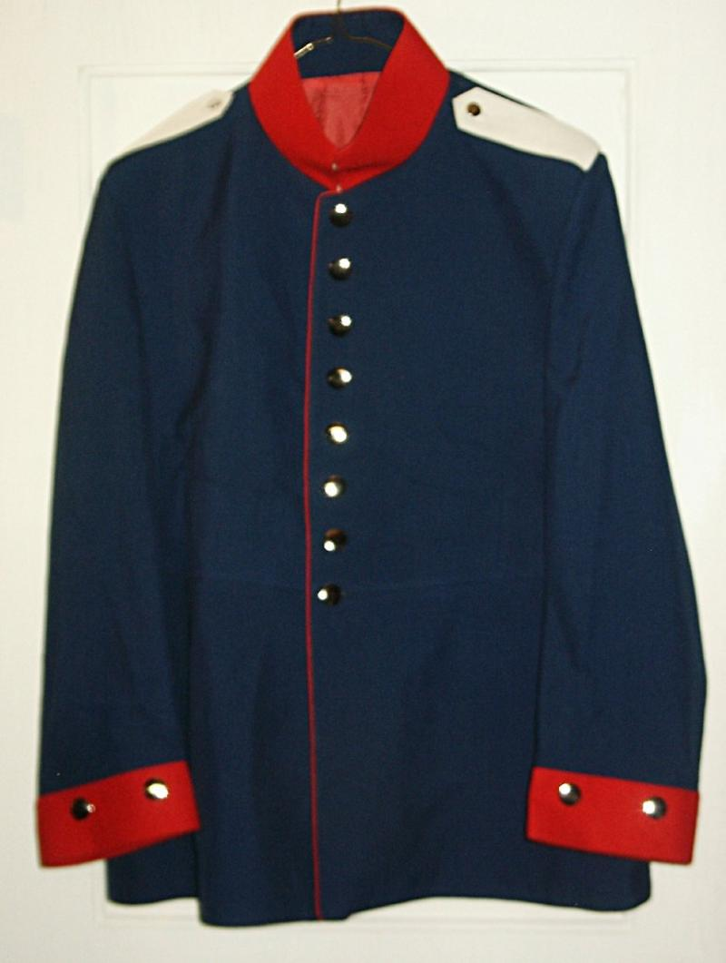 Prussian Tunic with Swedish Cuffs