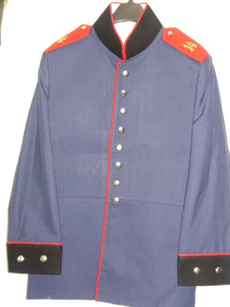 Prussian Enlisted Pionier Waffenrock Price:  $425.00