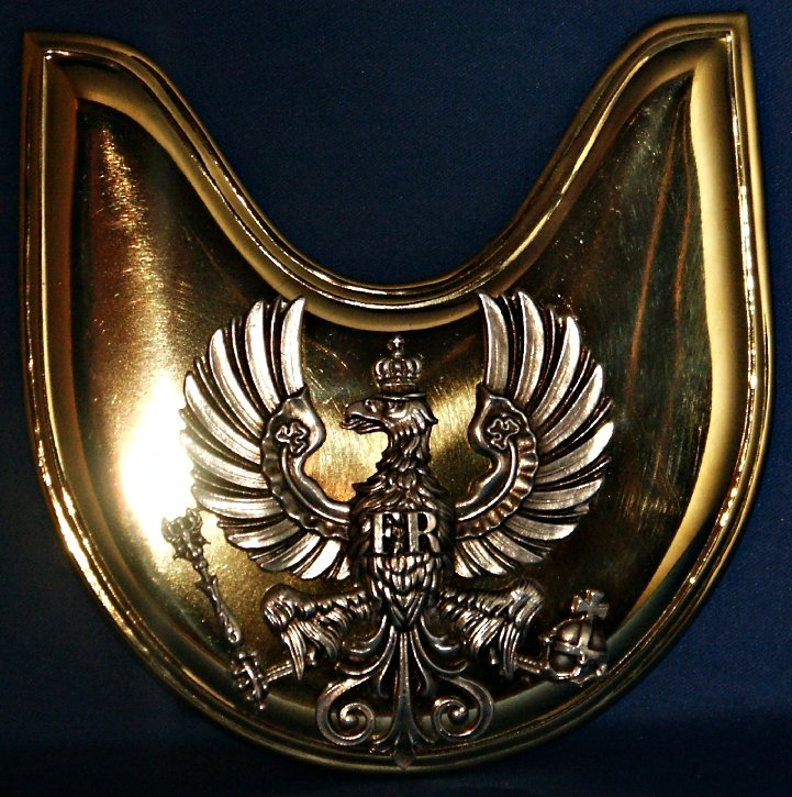 Prussian Stabsordonanzen Gorget Price:  $180.00 does not include chain