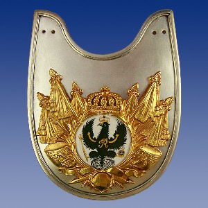 Prussian Administrative Officer Gorget Price:  $210.00