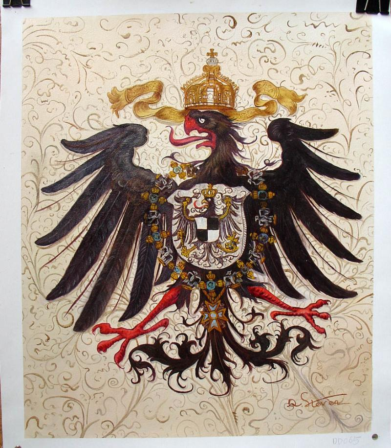 Imperial German Eagle Size 20 x 24 Inches Price:  $350.00