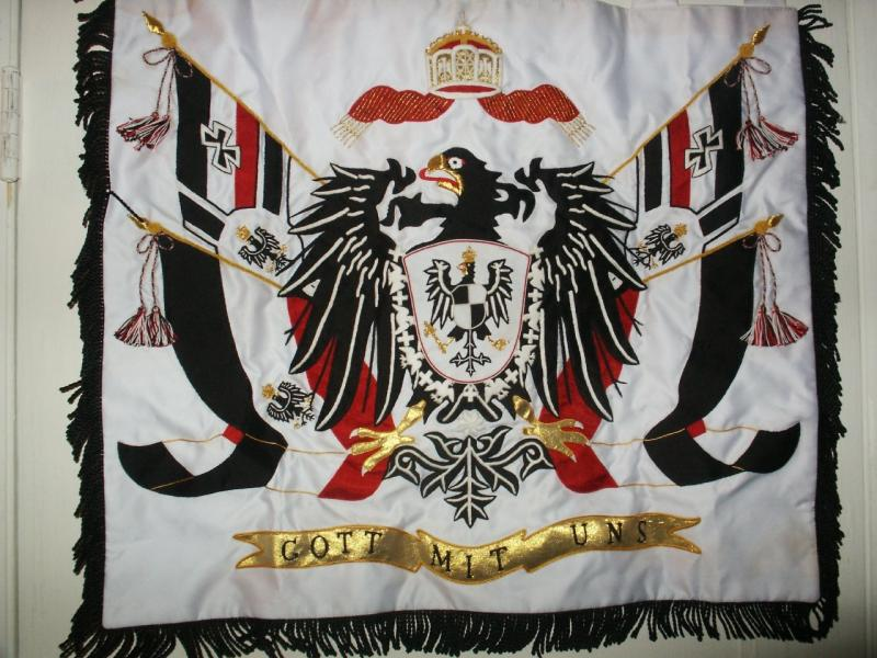 Imperial German Colonial Patriotic Banner Price: $300.00 one-sided 24.5 x 21.25 inches