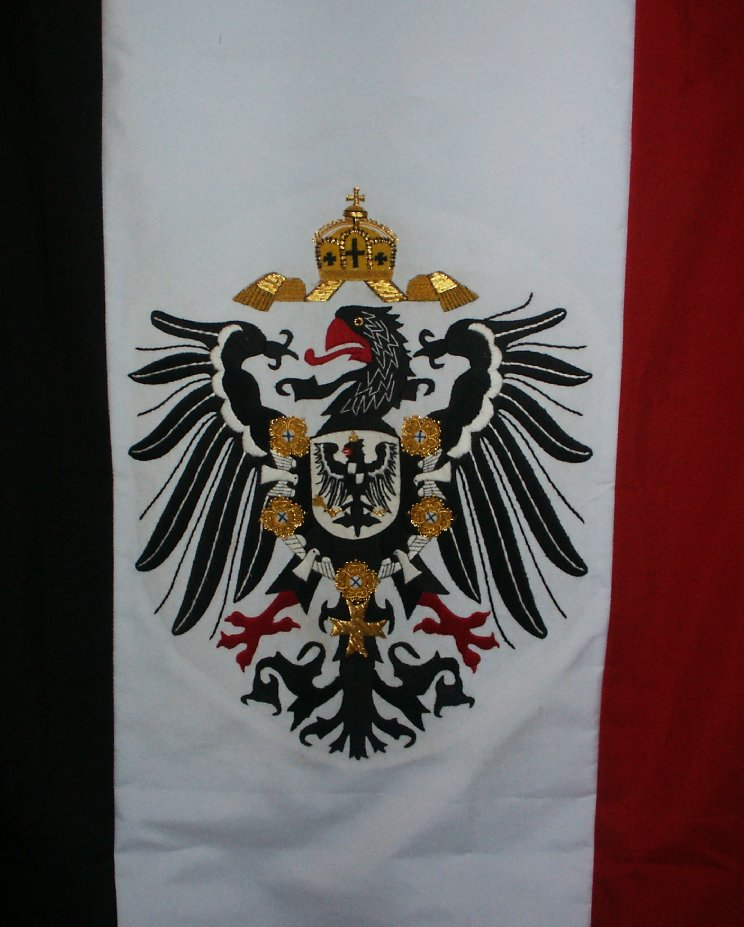 Imperial German Patriotic Banner Price: $350.00 one-sided 24 x 48 inches