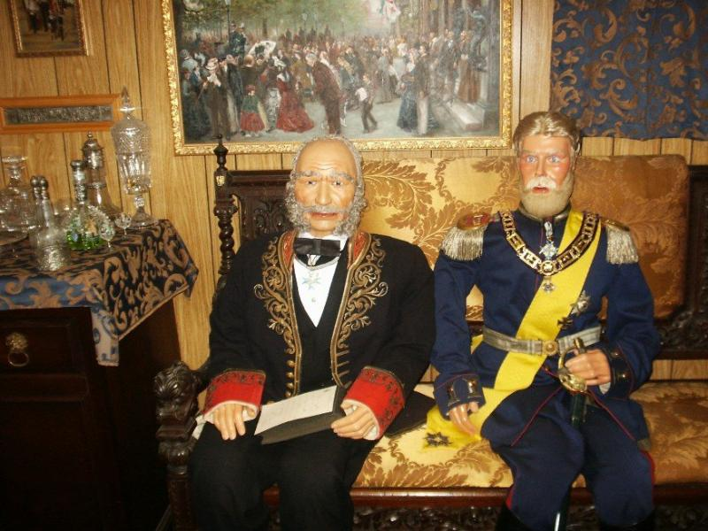 Kaiser Wilhelm I with Crown Prince Friedrich