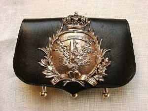 Prussian Leib-Kurassier Cartridge Pouch Price:  $120.00