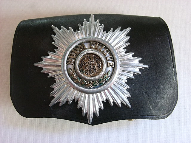 Prussian Garde du Corps Officer's Cartridge Pouch  Price:  $190.00