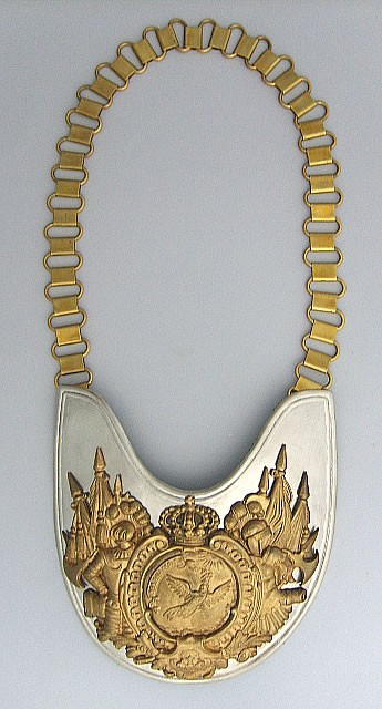 Prussian Leib-Kurassier Trooper's Gorget  Price $180.00