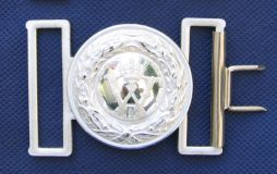 Prussian Silver Buckle & Keeper