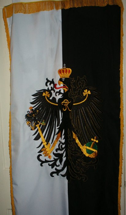 Kingdom Of Prussia Parade Banner Price: $350.00 one-sided 24 x 48 inches