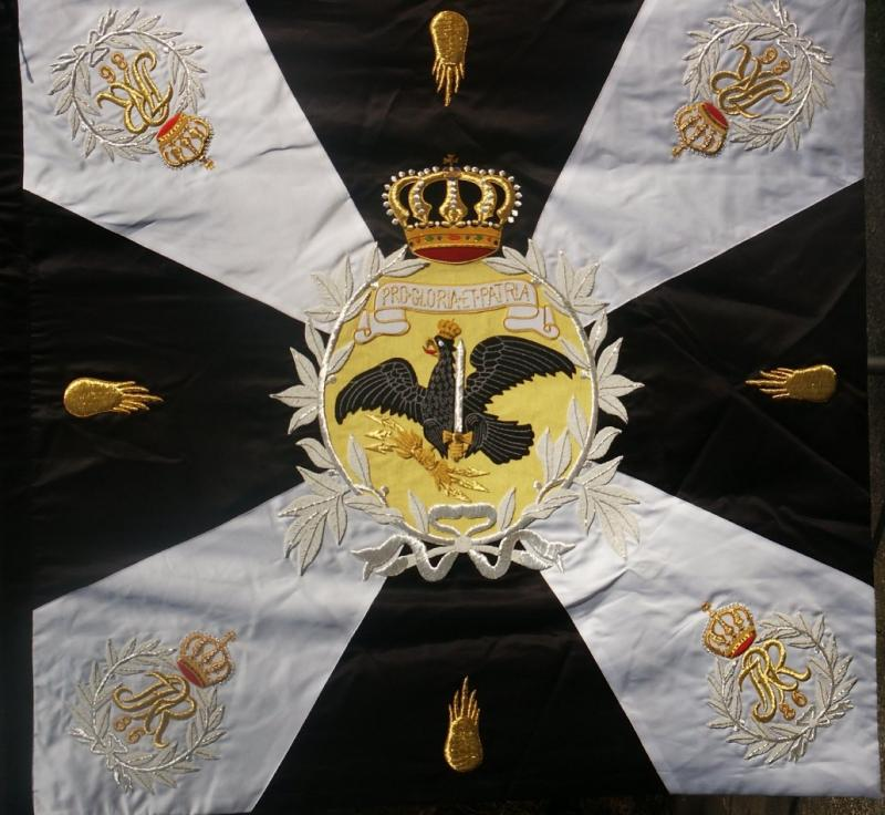 "Prussian Veteran's Association Banner Price: $900. double-sided 48"" x 49"