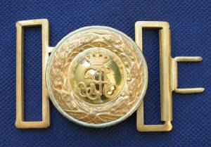 Sachsen after 1902 Buckle & Keeper