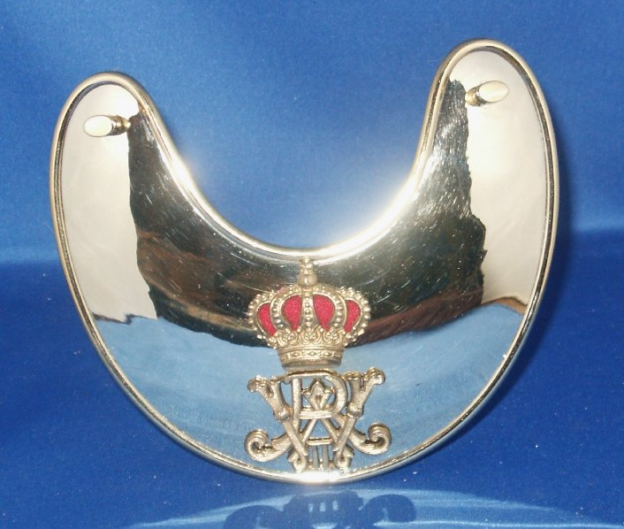 Prussian Officer of the Staff Guard Gorget  Price:  $180.00