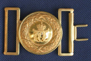 Wurttemberg Gilt Buckle & Keeper
